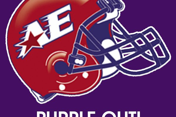 Purple Out - Friday, October 13 at 7:00pm Appleton East High School
