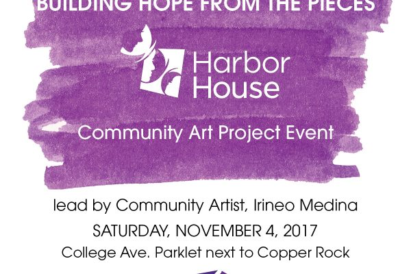 Building Hope From the Pieces - Community Art Event