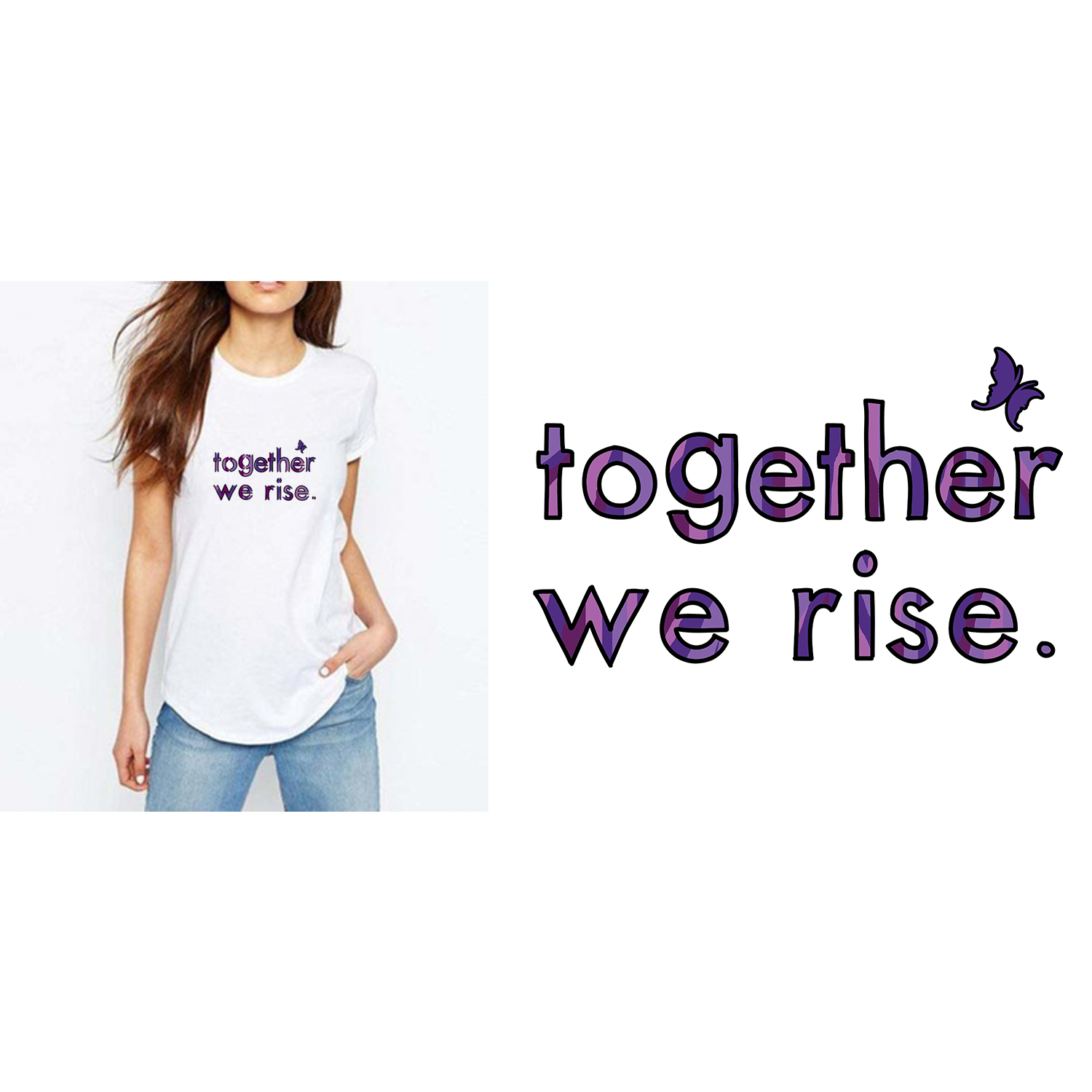 Together We Rise T-Shirt